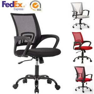 Ergonomic Swivel Mid back Computer Office Desk Mesh Chair Heavy Duty Metal Base $56.99