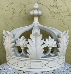 """Huge Wall Mounted CROWN BED CANOPY Drapery Composite 20"""" X 23"""" X 12"""" $399.00"""