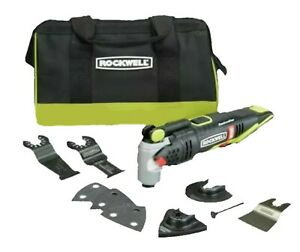 Rockwell Sonicrafter RK2701K 20V Brushless Cordless Oscillating Bare Tool + Acc