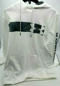 Under Armour Women's Large, White Coldgear Hoodie $12.00