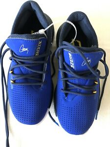 NEW Under Armour Steph Curry Boy Youth Basketball Shoes Blue Yellow Size 1.5 $15.50