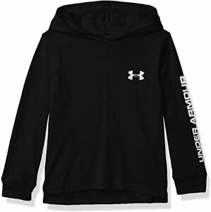 Under Armour Boys Youth Pull Over Long Sleeve Hooded Shirt Size Varies M 2 $13.99