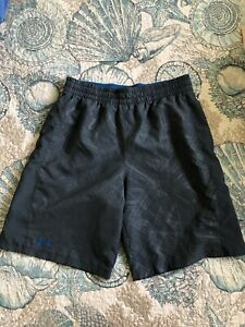 Mens Under Armour Loose Athletic Shorts Size Large L Drawstring Pockets $7.60
