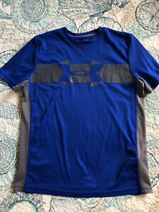 Under Armour Boys T Shirt Youth Tee Logo Size Youth Large *NICE $7.50
