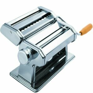 OxGord Pasta Maker Machine - Stainless Steel Roller for Fresh Spaghetti Fettucci