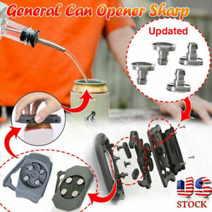New Go Swing Topless Can Openers Bar Beer Manual Jar Opener Topless Can Opener