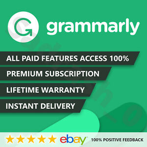 Grammar ly 🌟 Premium Lifetime 🌟 Account INSTANT DELIVERY 100% Guaranteed✔️