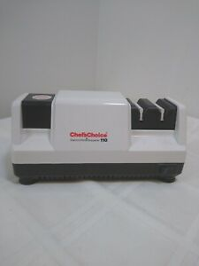 CHEFS CHOICE White 110 USA Made Diamond Hone Knife Sharpener