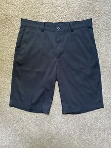 Nike Golf Tour Performance Mens Golf Shorts Size 30 Dri Fit Black EUC $9.99
