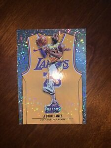 2018 19 Panini Threads Dazzle #175 LeBron James ICON Sp Lakers