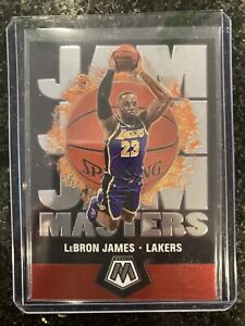 2019 20 Panini Mosaic Jam Masters #16 Lebron James Lakers