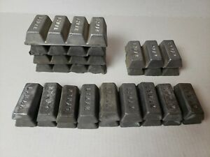 Lyman Lead Alloy Ingots Lot of 47.5 lbs Lead Bullet Casting Lead Bars