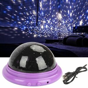 Starry Night Sky Projector Lamp Kids Baby Gift Moon Star Light Rotating Cosmos $7.34