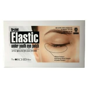 The Orchid Skin Elastic Under Youth Eye Patch 10pcs Pack Korean Cosmetics NEW $18.50