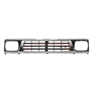 New Grill Grille Assembly Chrome Front For 1993 1996 Mighty Max Pickup MI1200117