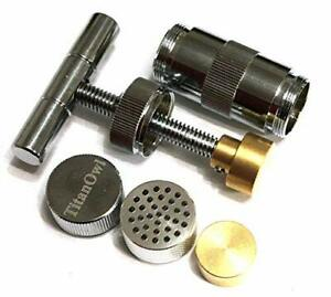 T Press Tool 3.5 Inches Engineered Brass Cylinder Heavy Duty Metal T Handle Shap