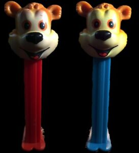 1998 FAO Schwarz Bear PEZ Dispenser Lot of 2 Loose $9.99