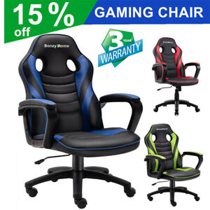 Racing Gaming Chair Office Computer Ergonomic Backrest Swivel E Sports Chair $83.99