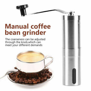 Stainless Steel Coffee Bean Manual Grinder Spice Nut Grinding Mill Hand Tool US
