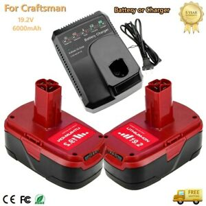 6.0Ah For Craftsman 19.2V Lithium C3 Diehard Battery or Charger 11375 130279005