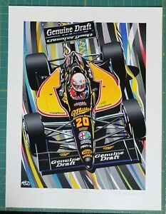 GENUINE DRAFT Limited Edition Serigraph by Randy Owens $265.00