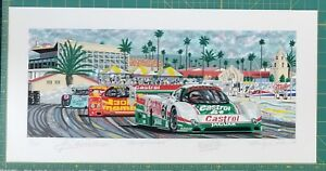 FAIRGROUNDS Limited Edition Serigraph by Randy Owens $265.00