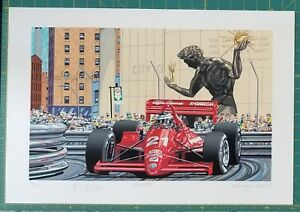 DEBUTTO Limited Edition Serigraph by Randy Owens $230.00
