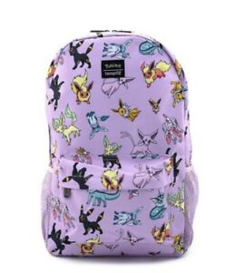 NEW Eevee Evolutions Purple Backpack By Loungefly $39.99