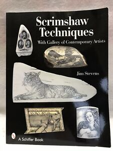 Scrimshaw Techniques With Gallery Of Contemporary Artists $20.00