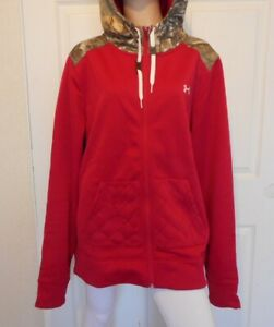 UNDER ARMOUR New Womens Size 2XL Hoodie Sweatshirt Pink Storm $49.99
