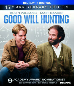 Good Will Hunting New Blu ray Amaray Case Subtitled Widescreen