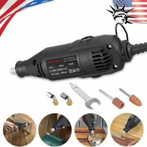 Electric Grinder 5 Variable Speed Power Tool Drill Set MultiPro 110 V Black