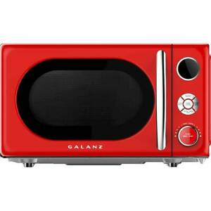 Galanz Retro 0.7 Cu. Ft. Microwave Hot Rod Red