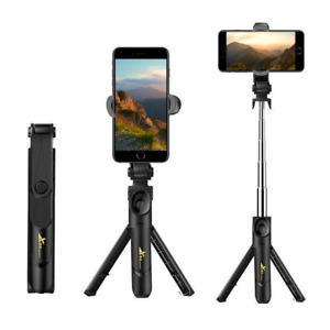 Extendable Foldable Tripod Selfie Stick For IPhone Galaxy Bluetooth Travel Size $9.99