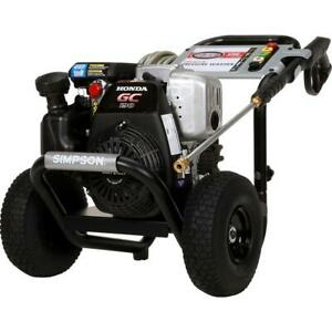 Simpson 3100 PSI 2.5 GPM Gas Pressure Washer with Honda Engine $299.99