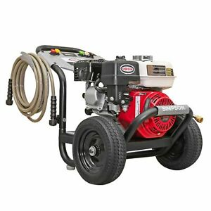Simpson PowerShot 3500 PSI 2.5 GPM Gas Pressure Washer with Honda Engine $319.99