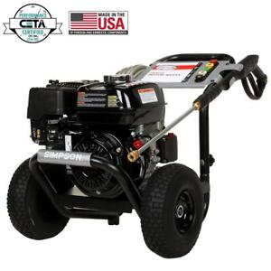 Simpson PowerShot 3300 PSI 2.5 GPM Gas Pressure Washer with Honda Engine $299.99