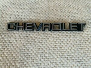 Plastic Chevrolet Emblems