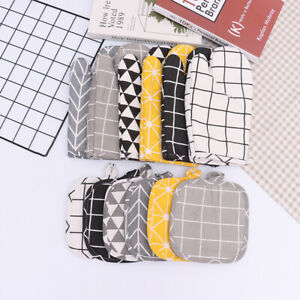 1Piece Cotton Fashion Kitchen Cooking microwave gloves baking BBQ Oven mitts US