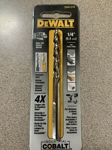 DEWALT 1 4quot; DRILL BIT DWA1216 FOR STAINLESS AND HEAVY STEEL