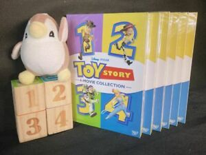 Toy Story I II III amp; IV DVD 1234 1 4 Complete Collection Movie Fast shipping