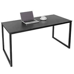 47quot; Computer Espresso Style Writing Desk Modern Study Office Desk Corner Table