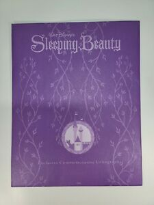 2003 Disney Exclusive Commemorative Lithograph Sleeping Beauty Mint $11.25