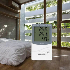 Digital Home Thermometer Humidity Temperature Hygrometer Indoor Outdoor Display $7.99