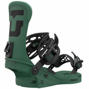 Union Force 2021 Mens Snowboard Bindings Forest Green $259.95