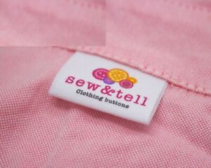 Custom Name Brand Labels Handmade Sewing Crafts Personalized Logo Washable Tag $30.50