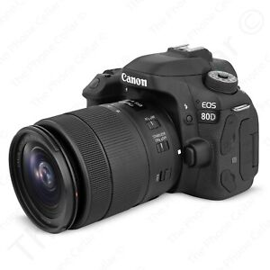 Canon EOS 80D Digital SLR Camera with 18 135mm EF S f 3.5 5.6 IS USM Lens
