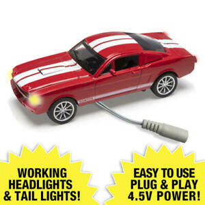 Menards 1:48 Scale 1965 SHELBY GT350 Lighted Diecast RED