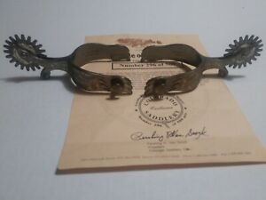 Colorado Saddlery Limited Edition 1894 Gooseneck Spurs