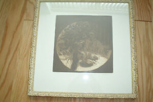 HAROLD ALTMAN Original Etching quot;Tablequot; Pencil Signed Limited Edition Of 50 $290.00